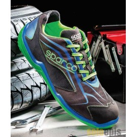 Zapato TOURING LOW S1P N1 VERDE