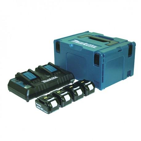 Kit Batería 18V BL1850B + Cargador DC18RD